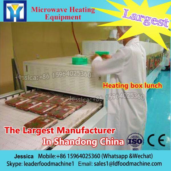 Stevia high temperature dryer mesh conveyor belt type microwave dryer #1 image