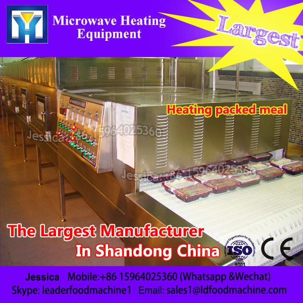 Industrial big capacity food factory microwave oven with conveyor beLD for heating #1 image