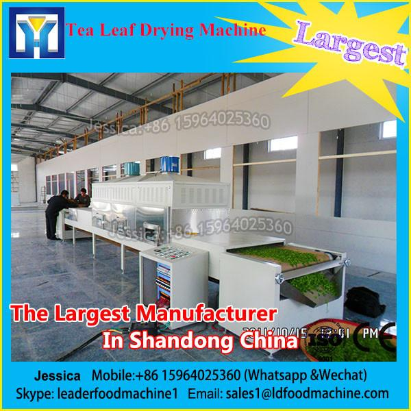 tunnel-industrial tea leaf sterilizing and drying microwave equipment #1 image