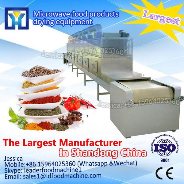 Dryer machine /  industrial tunnel type microwave sea food /fish sterilizing drying machine #1 image