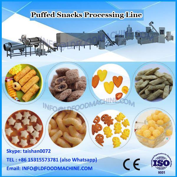 Rusk /Corn puffing sticks food twin screw extruder equipment /machinery manufacturer made in China #3 image