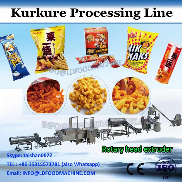 150-200kg/h Corn Grits Puffing Cheetos Extruder Equipment #2 image