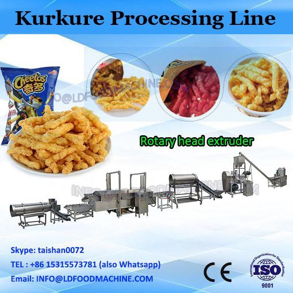 China Made Automatic Cheetos Kurkure Puffed Corn Fried Snack Food Machine #1 image