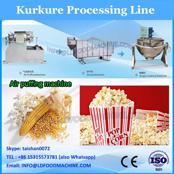cheetos crunchy corn twisted puffs making machine/production plant #2 image