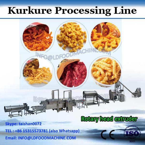 cheetos crunchy corn twisted puffs making machine/production plant #1 image