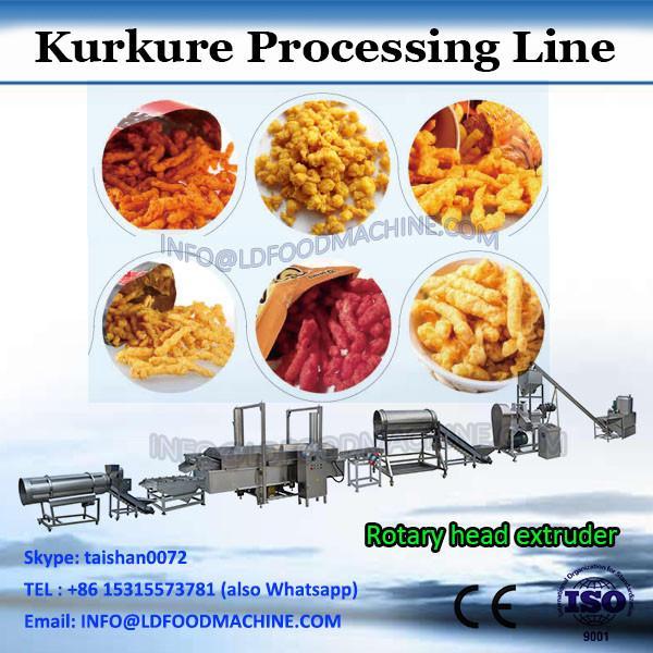 Fried corn grits snack food making extruder machine #2 image