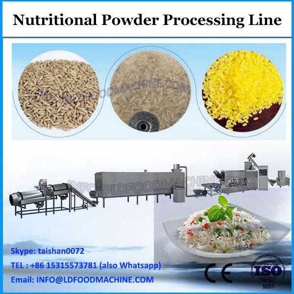 Nutritional baby rice corn powder extruded snacks food making machines #1 image