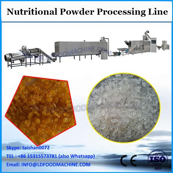Nutritional baby rice corn powder extruded snacks food making machines #2 image
