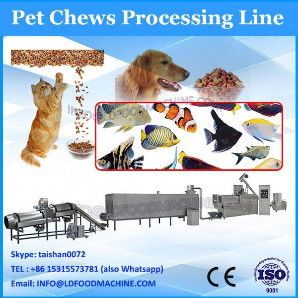 Best price bird dog cat extruded snack machine pet food extruder machine price #3 image