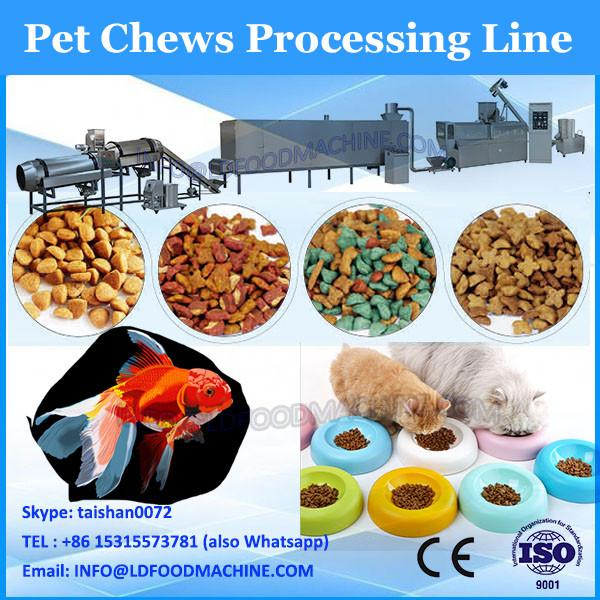 Best price bird dog cat extruded snack machine pet food extruder machine price #1 image