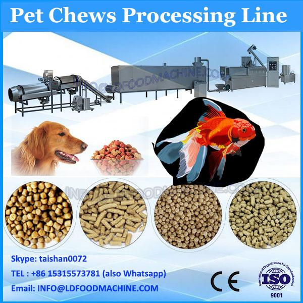 Automatic pet biscuit processing line pet chews extruder #1 image