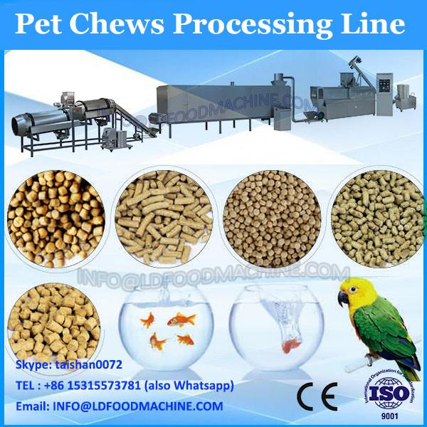 Automatic pet biscuit processing line pet chews extruder #3 image