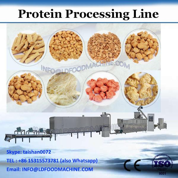 Twin screw extruder textured soya protein making machine /soy meat processing line/soya nuggets production line #3 image
