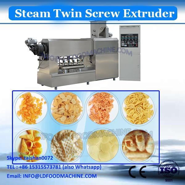 China golden supplier crispy puffed snack twin screw extruder/extruded corn snack production line #3 image