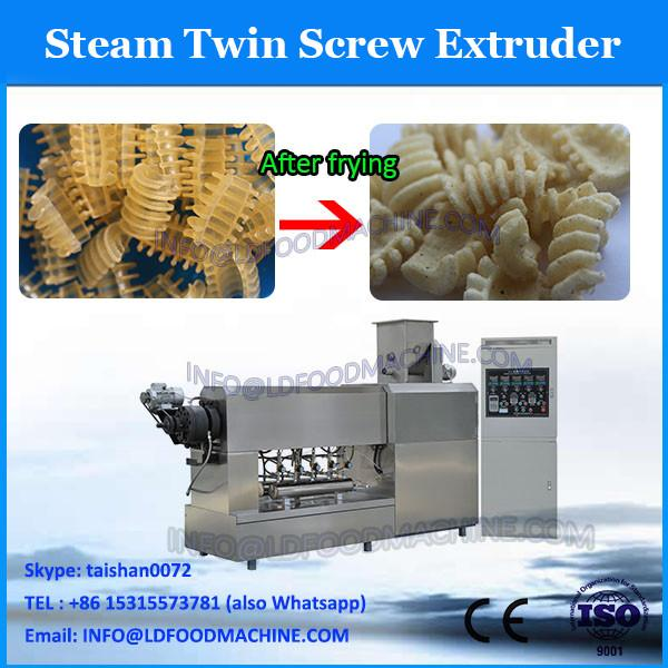 China golden supplier crispy puffed snack twin screw extruder/extruded corn snack production line #1 image
