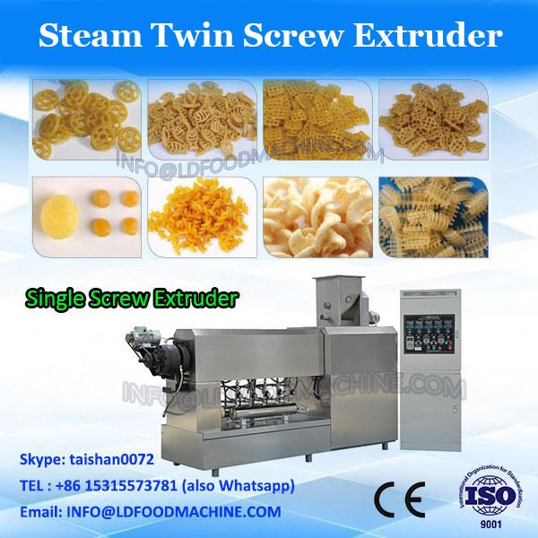 China golden supplier crispy puffed snack twin screw extruder/extruded corn snack production line #2 image