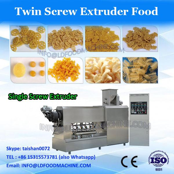 Snacks/crispy cake/potato sticks/sheeted snacks food doule screw extruder #3 image
