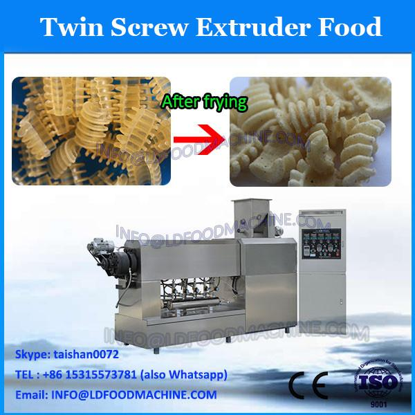 Snacks/crispy cake/potato sticks/sheeted snacks food doule screw extruder #2 image