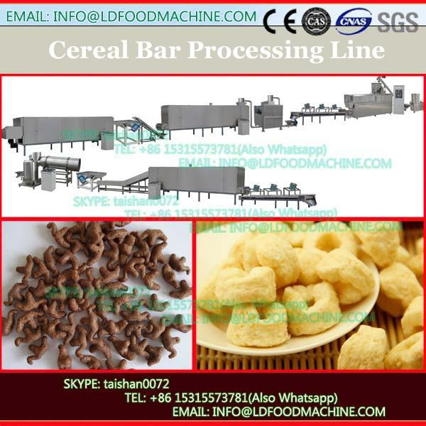 TK-A600 RICE CHOCOLATE BARS PRODUCTION LINE WITH CHOCOLATE COATING OUTSIDE #1 image